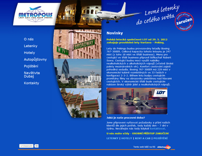 web Metropolis Travel